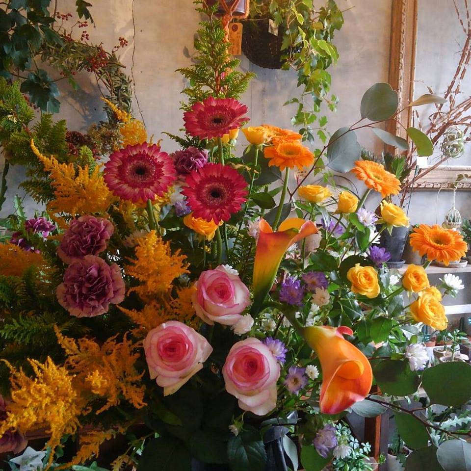 スタンド生花 4646農園は富山市粟島のフラワーショップお花屋さんです