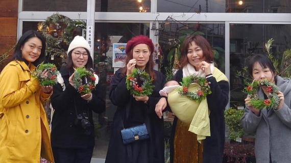 フラワーワークショップ 4646農園は富山市粟島のフラワーショップお花屋さんです